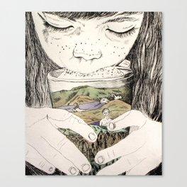 MOUNTAIN MILK Canvas Print