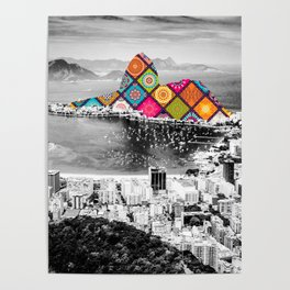 Funky Landmark - Rio Poster