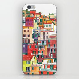 Cinque Terre iPhone Skin