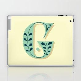 Alphabet Drop Caps Series- G Laptop & iPad Skin