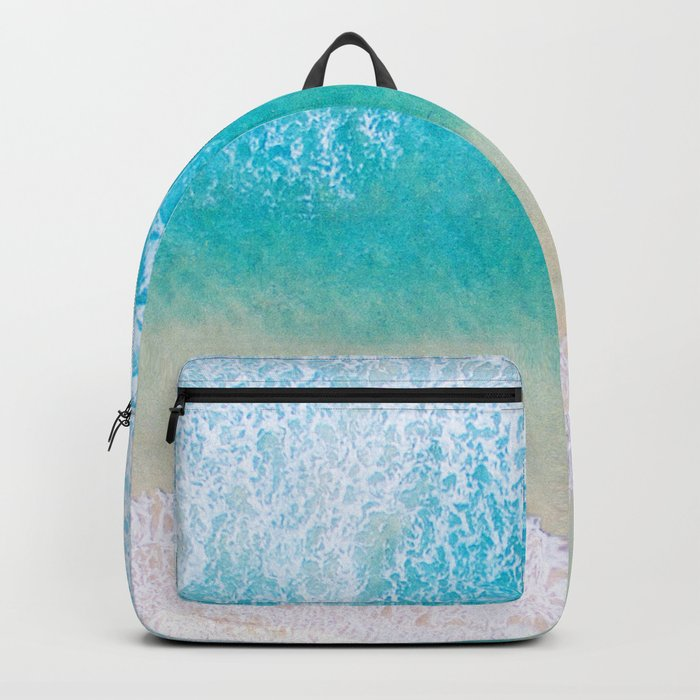 Ocean in Millennial Pink Backpack