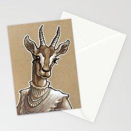 Lady Gazelle Stationery Cards