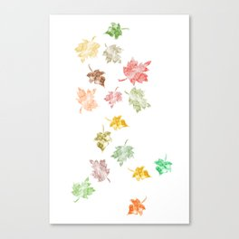 Welcome Fall Canvas Print
