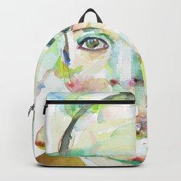 NABOKOV VLADIMIR - watercolor portrait.1 Backpack