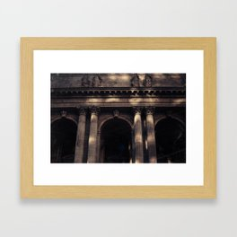 NYC Public Library Framed Art Print