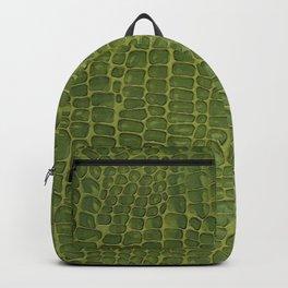 Alligator Skin Backpack