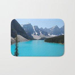 Moraine Lake, Banff Canada Bath Mat