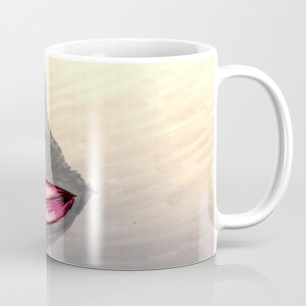 Lotus Pink Blooming Mug by Hikarutara MUG8895379