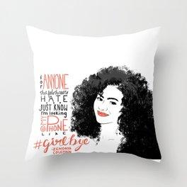 Zendaya Coleman Throw Pillow