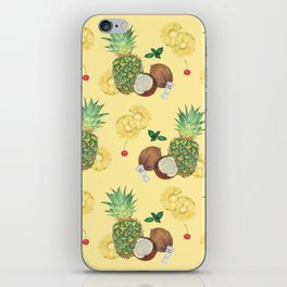 pina colada iPhone Skin