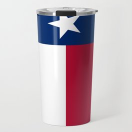 State flag of Texas, official banner orientation Travel Mug