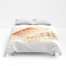 Ombre Cake Slice Comforters