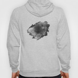 ink style of black watercolour texture Hoody