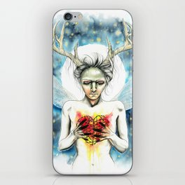 Winter fairy never gets cold iPhone Skin