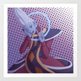 More Whis Coming to NA Soon (sans text) Art Print