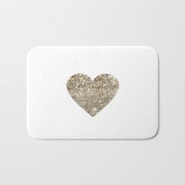 Gold Heart-65 Bath Mat