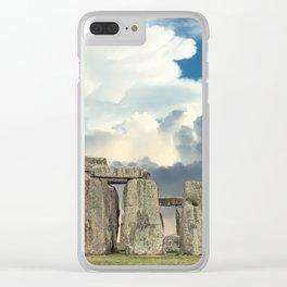 Stonehenge VI Clear iPhone Case