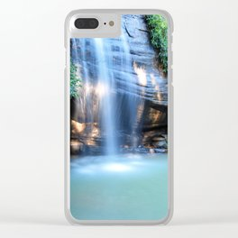Pure Serenity Clear iPhone Case