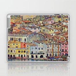 """Gustav Klimt """"Malcesine on Lake Garda"""" Laptop & iPad Skin"""