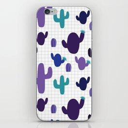 Cactus purple #homedecor iPhone Skin