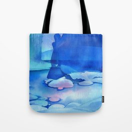Silent Phantom Tote Bag