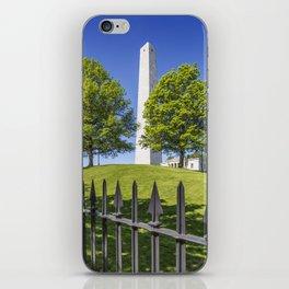 BOSTON Bunker Hill Monument iPhone Skin