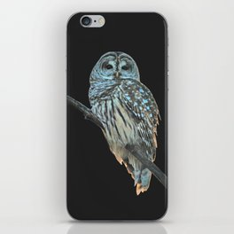 Owl, See the Moon iPhone Skin