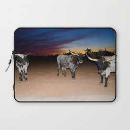 Bulls Night Out Laptop Sleeve