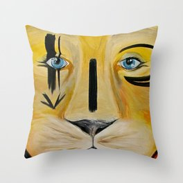 Felioness Throw Pillow
