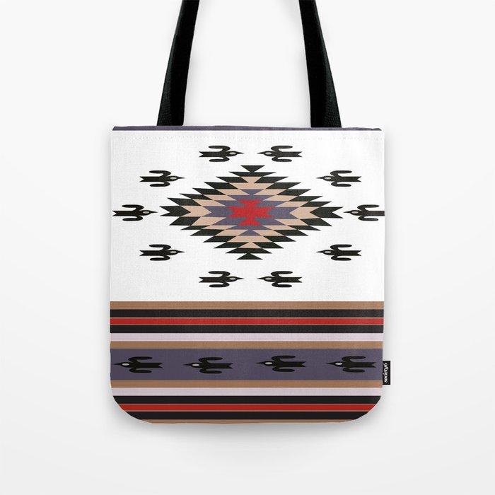 American Native Pattern No. 135 Tote Bag