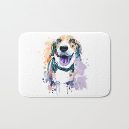 Sweet Beagle Bath Mat