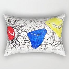 Basics Doodle Rectangular Pillow