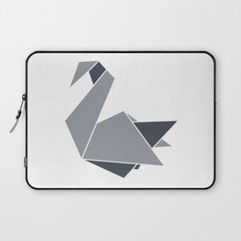 Swan Origami Laptop Sleeve