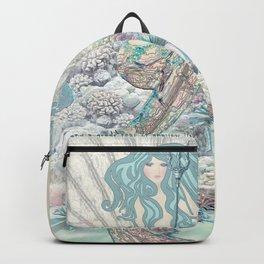 Anais Nin Mermaid [vintage inspired] Art Print Backpack