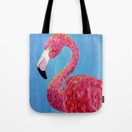 Flamingo bold and vibrant bird Tote Bag