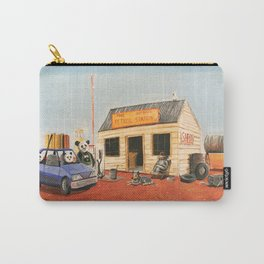 The Outback Petrol Station Carry-All Pouch