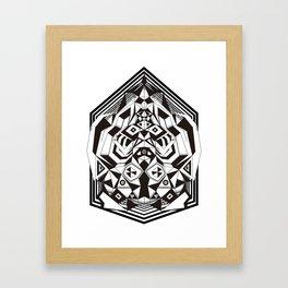 """N3O """"Sacred Geometry 1""""  Framed Art Print"""
