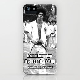 Jim Kelly Case iPhone Case