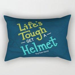 Life's Tough Rectangular Pillow