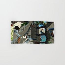 Optical Illusion - Tribute to Escher Hand & Bath Towel