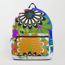 Art Flowers V17 Backpack