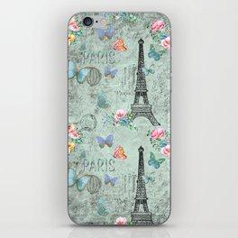 Paris - my love - France Eiffeltower Nostalgy - French Vintage iPhone Skin