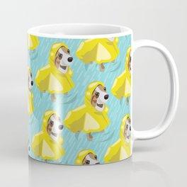 corgi in rain coat Coffee Mug