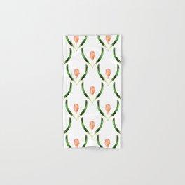 Heliconia Blossom White  #tropical Hand & Bath Towel