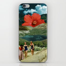 Valley of the flower iPhone Skin