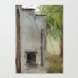 Building No. 7 Canvas Print