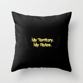 myrulez Throw Pillow