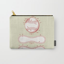 1928 Baseball Patent Carry-All Pouch