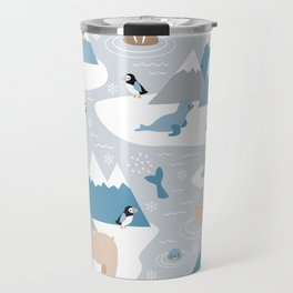 Arctic animals Travel Mug