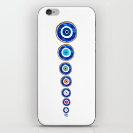 No Room For Evil iPhone Skin
